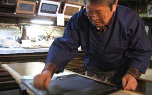 Art japonais kogei - Teinture soie japonaise