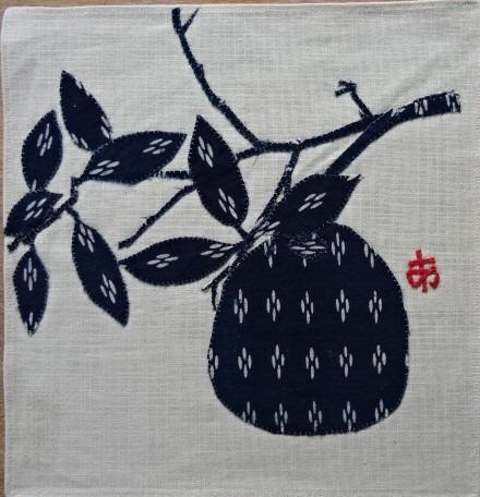 Oeuvres en tissus appliqués de Ayako Miyawaki